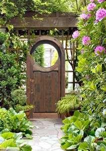 Wooden Garden Gates