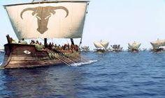 Картинки по запросу древнегреческие корабли фото