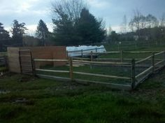 How to design a simple pig pen