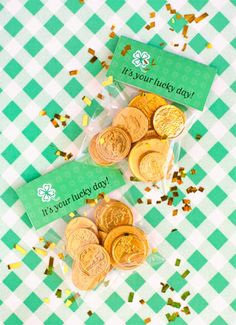 St Patty treat bag toppers