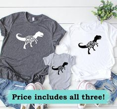 Mama Papa and Baby Saurus Shirt Set. Mat - Family Shirts - Ideas of Family Shirts - Mama Papa and Baby Saurus Shirt Set. Peach Shirt, Dinosaur Birthday Party, 3rd Birthday, Birthday Ideas, Dinosaur Shirt, Baby Mobile, Mommy And Me Outfits, Mamas And Papas, Mom Shirts