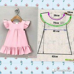 Fashion Kids Girl Dress Sew 44 Super Ideas Little Girl Dresses Dress Fashion girl ideas Kids Sew Super Girls Dresses Sewing, Sewing Baby Clothes, Dresses Kids Girl, Baby Sewing, Diy Clothes, Toddler Dress Patterns, Baby Clothes Patterns, Dress Sewing Patterns, Pattern Sewing