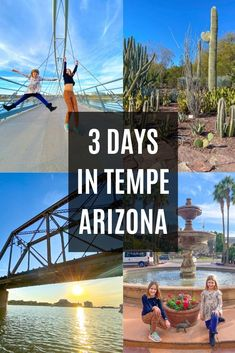 Looking for a family friendly getaway? Check out all the fun things to do in Tempe Arizona in just 3 days! #sponsored #ourtempe #tempetravels #tempe #tempearizona #arizona #travel #familytravel #visitarizona Visit Arizona, Arizona Travel, Stuff To Do, Things To Do, Tempe Arizona, Loving Texas, Live Love, Italy Travel, Family Travel