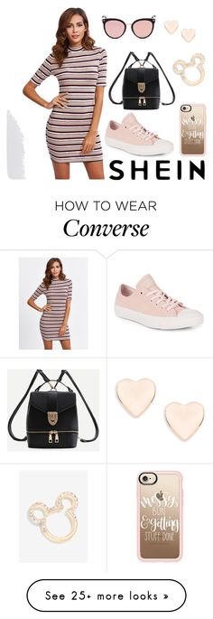 """Sin título #577"" by maria-milagro-malik on Polyvore featuring WithChic, Converse, Ted Baker, Disney, Stephane + Christian and Casetify"