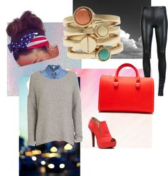 """Winter is coming :)"" by tran-stef ❤ liked on Polyvore"