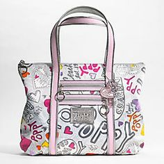 coach poppy handbags outlet 9t1e  COach Poppy Tote