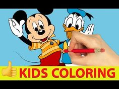 Kids Coloring Drawing And Coloring For Kids Games Cartoon Games, Cartoon Kids, Elsa Outfit, Colorful Drawings, Coloring For Kids, Games For Kids, Mickey Mouse, Kids Outfits, Disney Characters