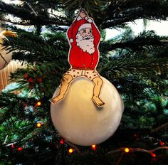 He came in like a wrecking bauble