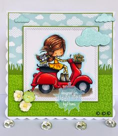 Tiddly Tuesday! New Scooting By Wryn (3 versions) and Tiny Dancer Freebie