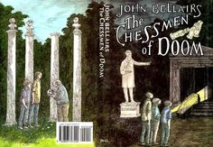 The Chessmen of Doom - Illustrated by Edward Gorey