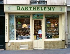 Barthélemy Cheese shop in Paris