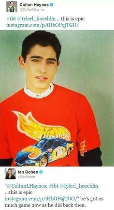 young Tyler Hoechlin