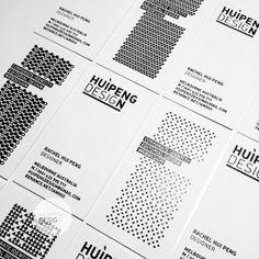 HUIPENGDESIGN Business Card by rachel hui peng