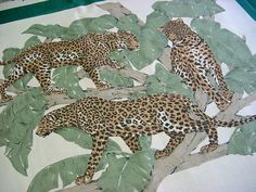 Vintage 70s Fabric Panel - Wild Cat Pillows to Sew & Stuff - Tiger Lion Cheetah Leopard Panther Jaguar - Decorator Throw Wall Quilt Cotton by FabulousTextiles on Etsy https://www.etsy.com/ca/listing/263653013/vintage-70s-fabric-panel-wild-cat