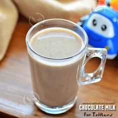 Chocolate Milk Recipe for Toddlers and Kids - ASmallBite Sponge Cake Recipes, Milk Recipes, Snack Recipes, Cooking Recipes, Easy Indian Sweet Recipes, Indian Dessert Recipes, Wheat Cake Recipe, Eggless Orange Cake, Carrot Halwa Recipe