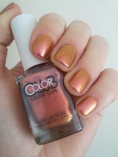 """CHIKI88...  my passion for nails!: Swatches: """"Wild and willing"""" - ColorClub"""