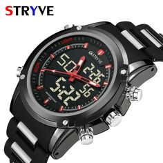 Quartz Watches Watches Shock-Resistant And Antimagnetic Mens Watches Top Brand Lige Luxury Mens Military Waterproof Sports Watch Mens Stainless Steel Quartz Watch Relogio Masculino Waterproof