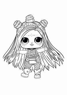Lol Hair Goals Coloring Pages from Lol Doll Coloring Pages Printable. Toys LOL are treading the peak of popularity among children throughout the world. Even though the doll inside the LOL Surprise ball is not exactly rev. Ninjago Coloring Pages, Bee Coloring Pages, Barbie Coloring Pages, Boy Coloring, Mermaid Coloring Pages, Coloring Pages For Girls, Cartoon Coloring Pages, Disney Coloring Pages, Coloring For Kids