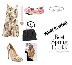 """""""Spring look"""" by wins04 on Polyvore featuring moda, VILA, Giambattista Valli, Thomas Sabo, Bling Jewelry, Avenue y H&M"""