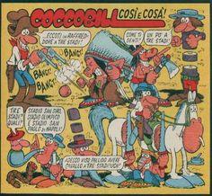Era il cowboy #CoccoBill, il personaggio più amato di #Jacovitti