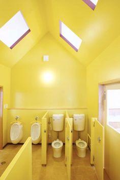 nursery school toilet for children interior design