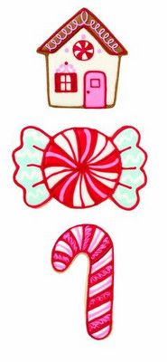 Candy, Candy Cane and Gingerbread House Christmas Cookie Cutter Set Christmas Cookie Cutters, Christmas Cookies, Christmas Cards, Butterscotch Pudding, Candy Cookies, Cookie Cutter Set, Candyland, Gingerbread Man, 3 Piece