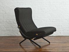 Osvaldo Borsani, P40 adjustable lounge chair/ Manufactured by Tecno S.p.A., Milan,