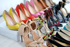 Shoes! Shoes! And more shoes!!