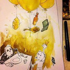 Ilustración, por Pito Campos