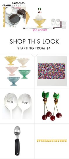 """a little dessert..ok, maybe a lot."" by khadamsribjh ❤ liked on Polyvore featuring interior, interiors, interior design, home, home decor, interior decorating, Magenta, Chanel, OXO and icecreamtreats"