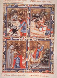 1330, Legend of Saint Ladislas (from the Anjou Legendarium)
