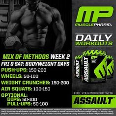MP Workout of the Day! Mix of Methods @MusclepharmPres Tag a friend #MPnation via ✨ @padgram ✨(http://dl.padgram.com)