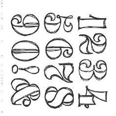 Letter Fonts Alphabet Letters Script