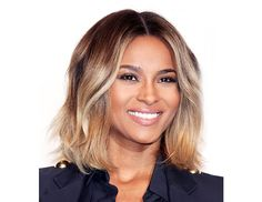 Who needs pants when you have a perfectly tousled, wonderfully ombre'd 'do? Follow Ciara's lead and use a flat iron to create soft waves around your face.