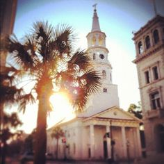 St. Michael's Church in Charleston, South Carolina.