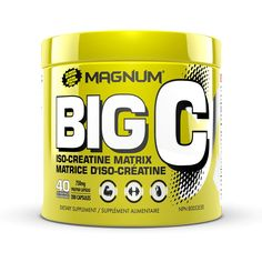 Magnum Nutraceuticals Big C Capsules All Natural Creatine Build Lean Muscle Muscle Mass, Gain Muscle, Big Muscle Training, Magnum, Bulk Up, Water Retention, Best Supplements, Muscle Tissue, Body Composition