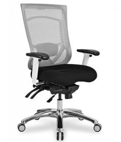 CoolMesh Pro Plus iwith designer Black fabric seat