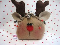 Christmas pin cushion