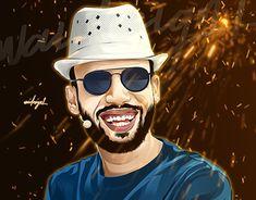 Mohamed Elwaid on Behance Portraits, Graphic, Man, Behance, Artist, Design, Head Shots, Artists