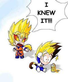 Goku isn't pleased