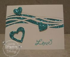 """LoveHappy Valentine's Day! My Valentine's card uses one of the soon to be released Sale-A-Bration items available starting February 21. Glimmer Paper! 12 sheets of 6″ x 6″ Glimmer Paper in Bermuda Bay, Mint Macaron and Sweet Sugarplum – I love them and this Bermuda Bay glimmer paper is absolutely gorgeous! I used the """"line"""" …"""
