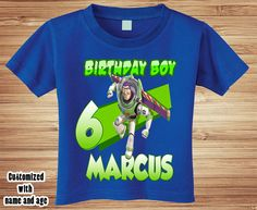 Toy Story Woody Personalised Boys Girls T-Shirt Age 7 Ideal Gift//Present