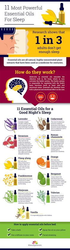 The 11 Most Powerful Essential Oils For Sleep