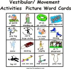 Make Chris visual sensory activity cards. Have some ready for car/purse for stores and maybe one on the fridge.