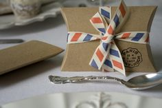you can't beat airmail and kraft ...   www.weddinginateacup.co.uk