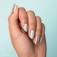 This #ThrowbackThursday features #GoldFishnetJN and #CherryBlossomTwistJN! Which one is your favorite? #Jamberry