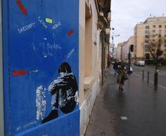 ©Vincent Brun Hannay Paris Paris 13 em Les Gobelins, Street Art, Have A Nice Trip, Bansky, Paris Paris, Adventure, City, Urban Art, Bon Voyage