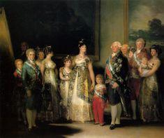 LA FAMILIA DE CARLOS IV, 1801  // Francisco de Goya