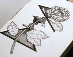 "Check out new work on my @Behance portfolio: ""Geometric flower"" http://on.be.net/1BFgCTU"