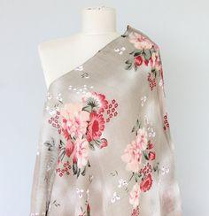 Floral scarf nursing cover breastfeeding cover by violasboutique